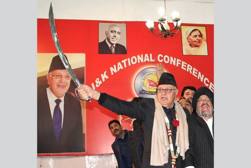 Anti Terrorist Front India Chief Announces Rs 21 Lakh Prize For Farooq Abdullah's Tongue For Speaking Against RSS