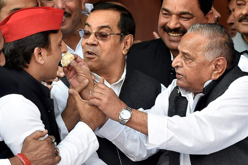 Akhilesh Son First, Leader Later. Always Blessed, Says Mulayam