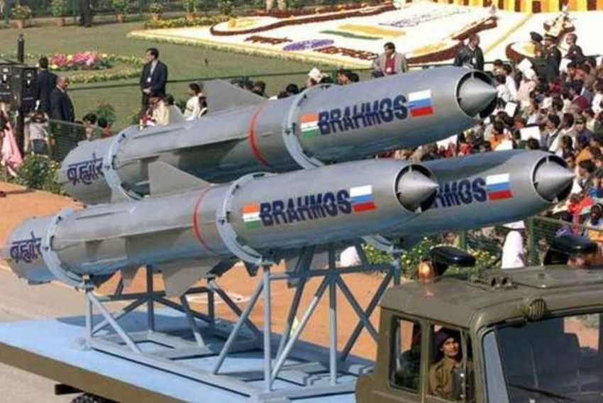 BrahMos, Fired From Sukhoi, Successfully Blows Up Sea Target