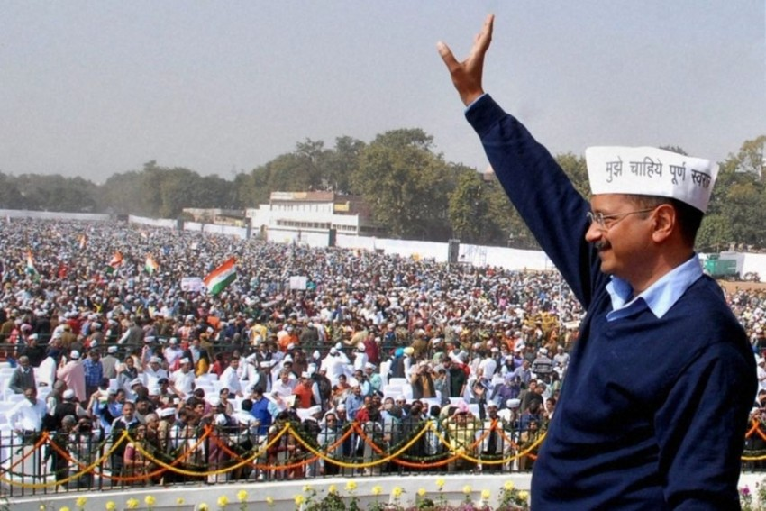 AAP Celebrates 5th Foundation Day Today, Holds National Convention At Ramlila Maidan