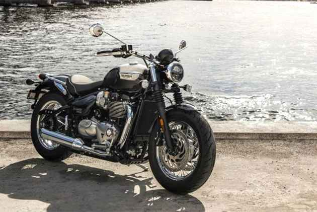 Triumph Bonneville Speedmaster To Be Launched In April 2018