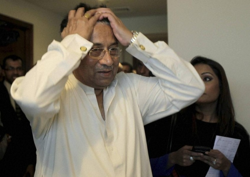 'Pak Now Being Controlled By Terror Outfits', BJP Tears Into Musharraf For Backing Haiz Saeed