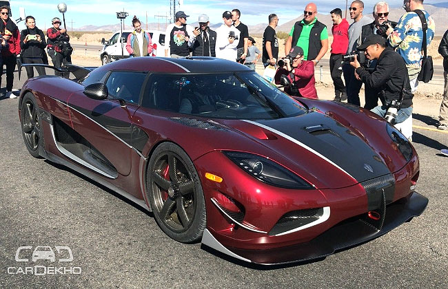 What Is The Fastest Production Car In The World >> Koenigsegg Agera Rs Is Now The Fastest Production Car In The