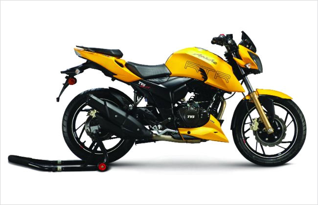 TVS Motor Company Launches Fuel-Injected RTR 200 Fi4V