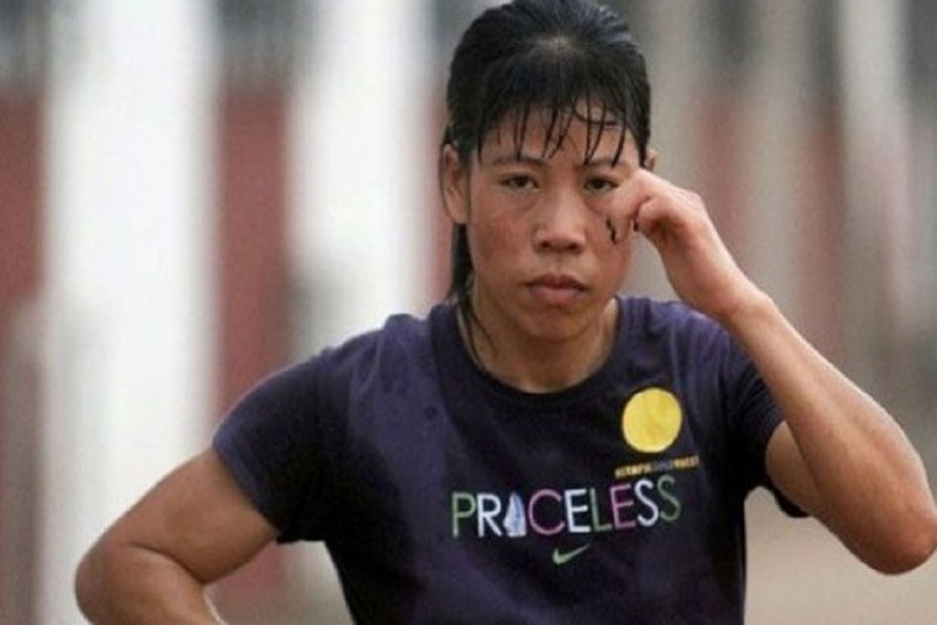 Mary Kom Wins Her Fifth Gold Medal In The Asian Boxing Championship