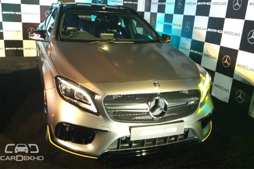 Mercedes-Benz CLA 45 AMG And GLA 45 AMG Facelifts Launched