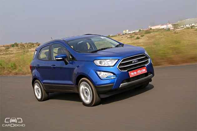 Ford EcoSport Facelift Launched At Rs 7.31 Lakh