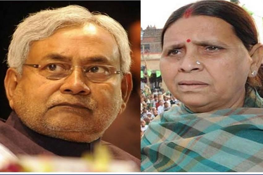 Rabri Devi Slams Nitish Kumar Over 'Corruption Is Etiquette' Tweet