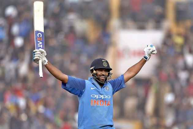 Rohit Sharma Becomes First Batsman To Hit Three ODI Double Centuries