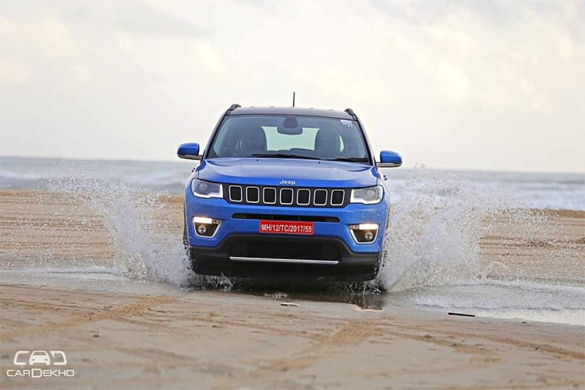 Jeep Compass Crosses 10K Sales Mark; Prices To Go Up From Jan 2018