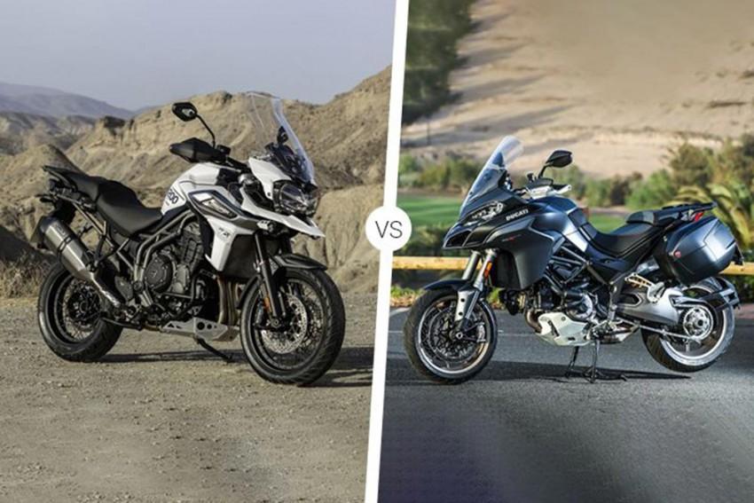 Ducati Multistrada 1260S Vs Triumph Tiger 1200 XRt Spec Comparison