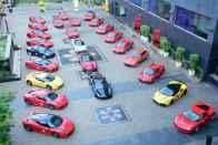 Ferrari 70th Anniversary Mumbai Drive - Code Red