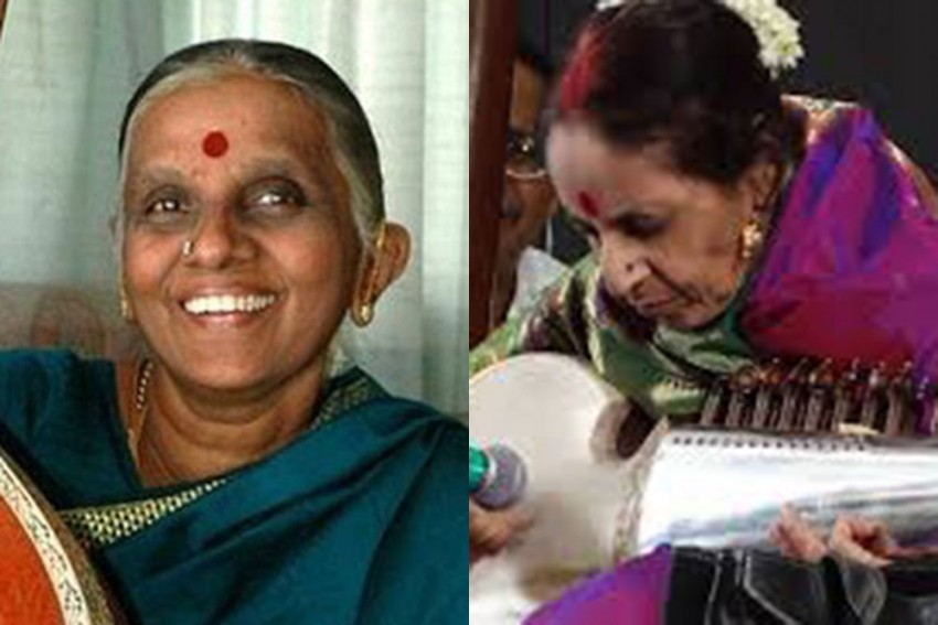 The Parsi Woman On Sarod And Tamil Vocalist In Carnatic