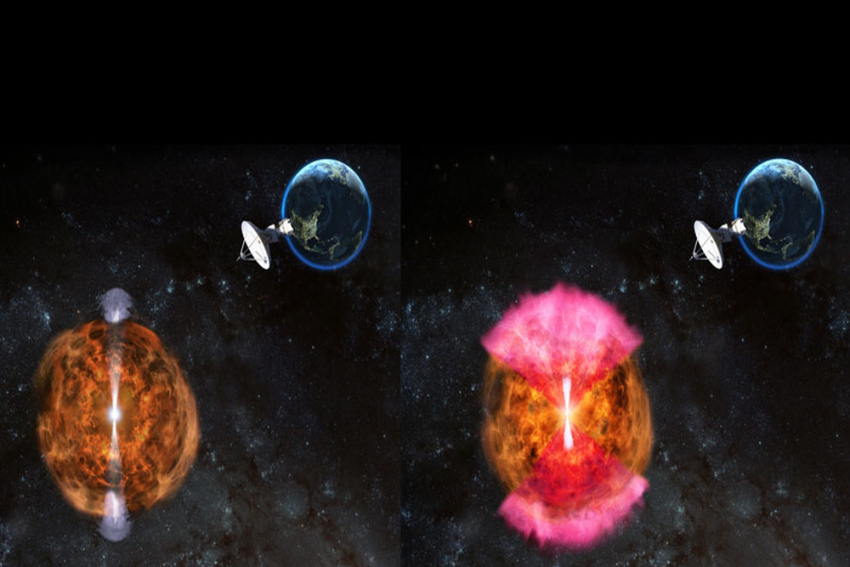 How Indian Telescope Data Helped Solve Mystery Of Jets From Colliding Neutron Stars