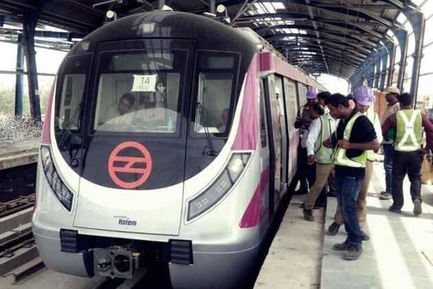 PM Modi Inaugurates Delhi Metro's Magenta Line