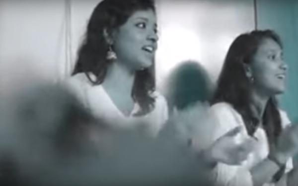 Watch: When Jingle Bells Met Qawwali And Carnatic Music On Christmas, It Was Rhythm Divine