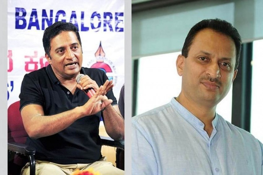 Actor Prakash Raj Slams Union Minister Hegde's 'Hate-Reaping' Comments Deriding Secularists
