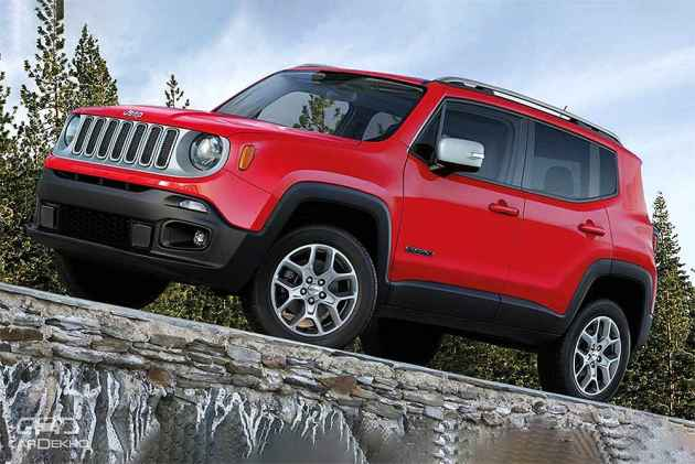 2019 Jeep Renegade Leaked Will It Come To India