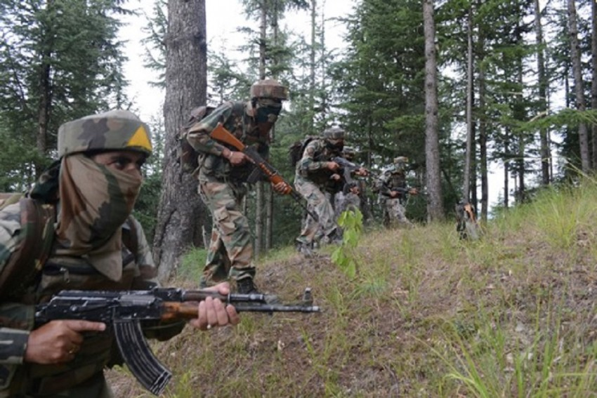 Pakistan Open Ceasefire Targeting Forward Posts In Jammu And Kashmir's Noushera District Today Morning