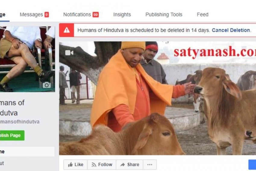 Humans Of Hindutva Re-Activates To Prove A Point That Facebook Did Not Delete The Page