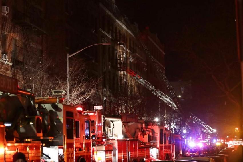 Apartment Fire Kills 12 In New York's Bronx