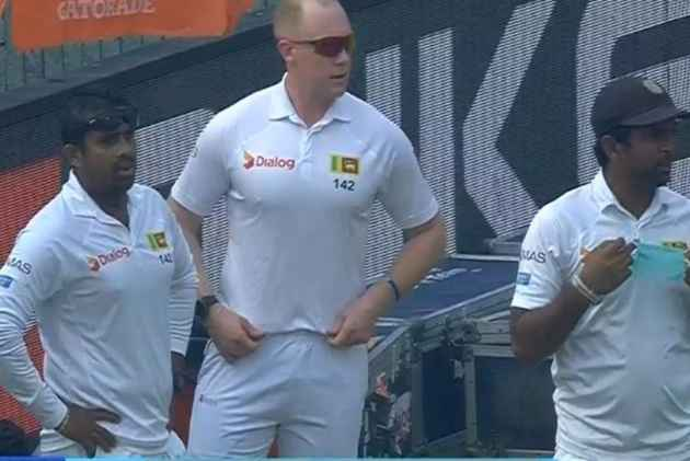 Left With Only 10 Men On Field, Sri Lankan Team Trainer Nick Lee Dons Jersey In Delhi