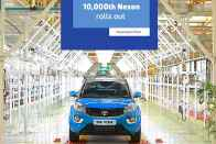 10,000th Tata Nexon Rolls Out
