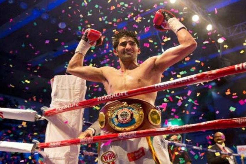 Unbeaten Vijender Singh To Defend Title Against African Champion Ernest Amuzu In Jaipur