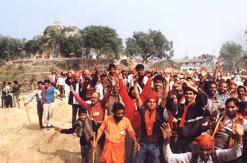 Heavy Security Deployment In Ayodhya, Faizabad On 25th Anniversary Of Babri Masjid Demolition