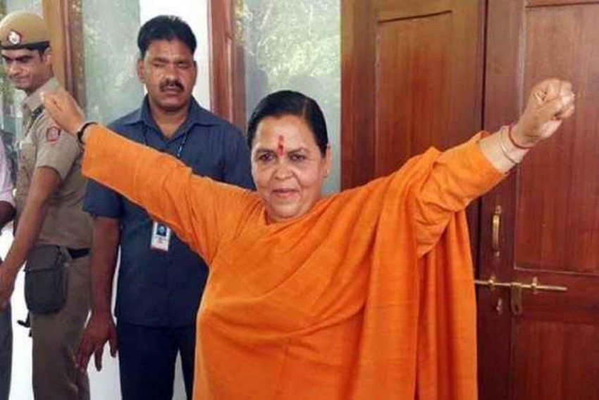 Uma Bharti, Who Lost Ganga Charge For Poor Show, Now Says Will Fast Unto Death If Ganga Plans Don't Start By Oct 2018