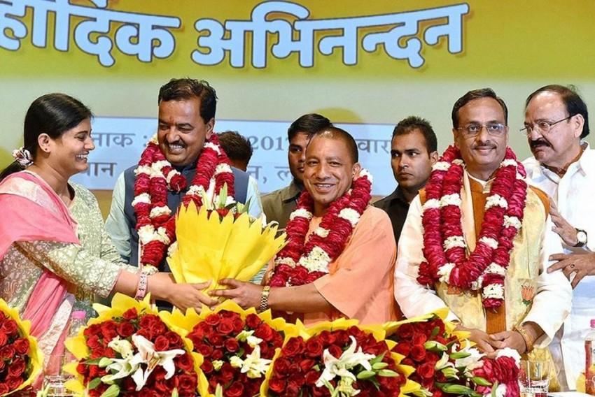 BJP's Politics Has Always Revolved Around Mahants, Sadhvis And Yogis