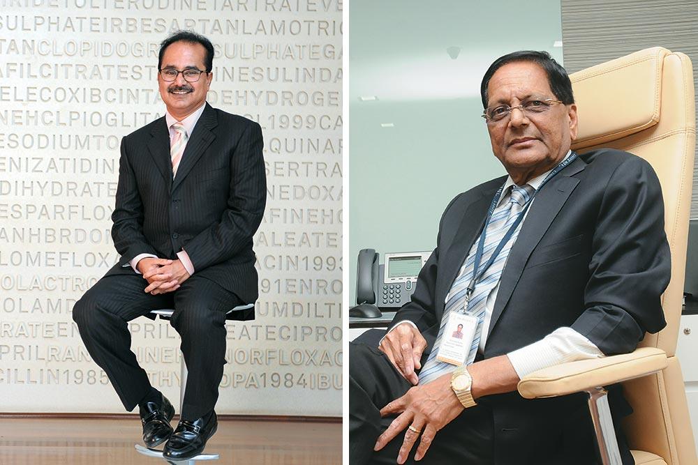 K. Anji Reddy (1939-2013) & G.V. Prasad, Dr Reddy's Laboratories