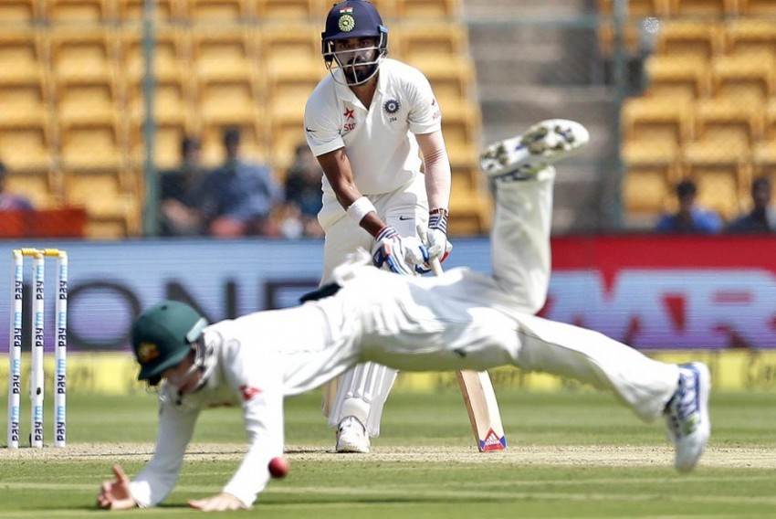 Off-Spinner Lyon Rips Apart India With Superb Eight-Wicket Burst