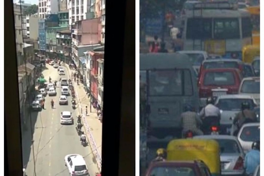 A Viral Video On Mizoram Traffic Discipline Can Be A Lesson To Delhi Drivers