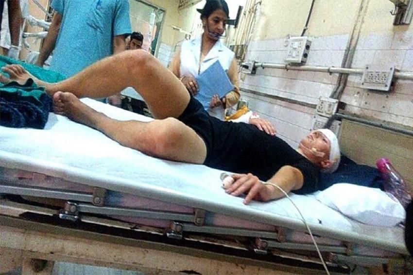 German National Stabbed & Robbed In Delhi
