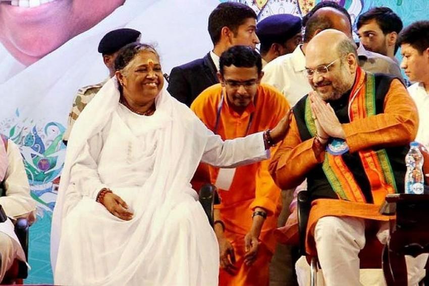 'Z' Category VIP Security Cover To Mata Amritanandamayi, The Hugging Saint Of Kerala