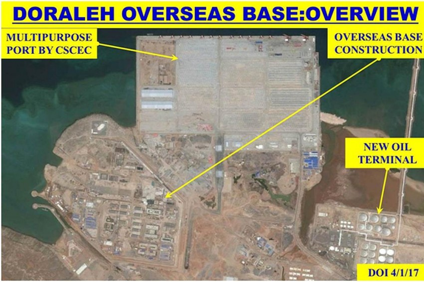 Doubt China's Imperialism? Exclusive Satellite Images Of China's 'Defence Base' In Djibouti