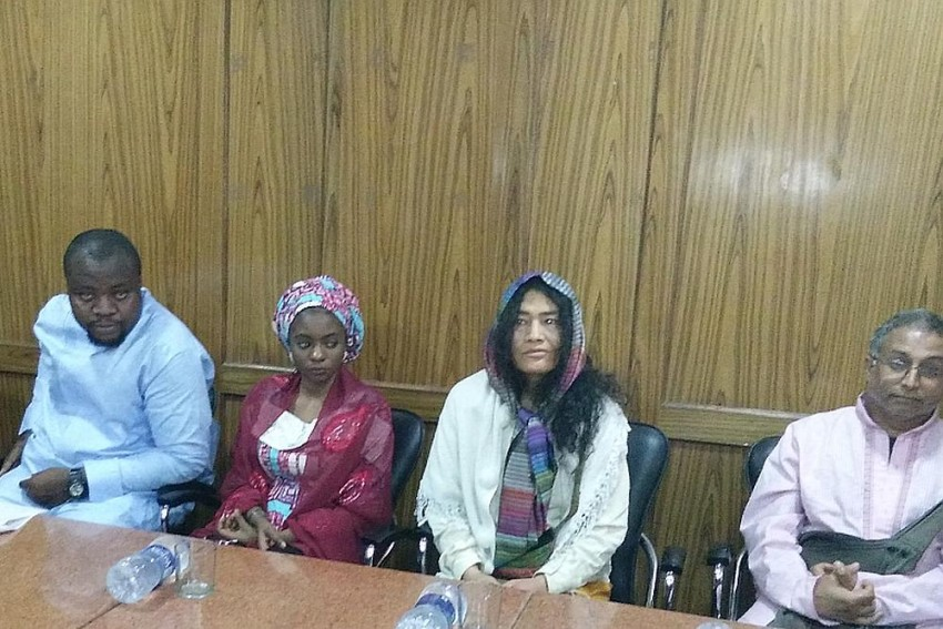Irom Sharmila Shows Solidarity For African Students, Says Human Beings Should Not Imitate Beasts