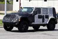 2018 Jeep Wrangler Interior Spied