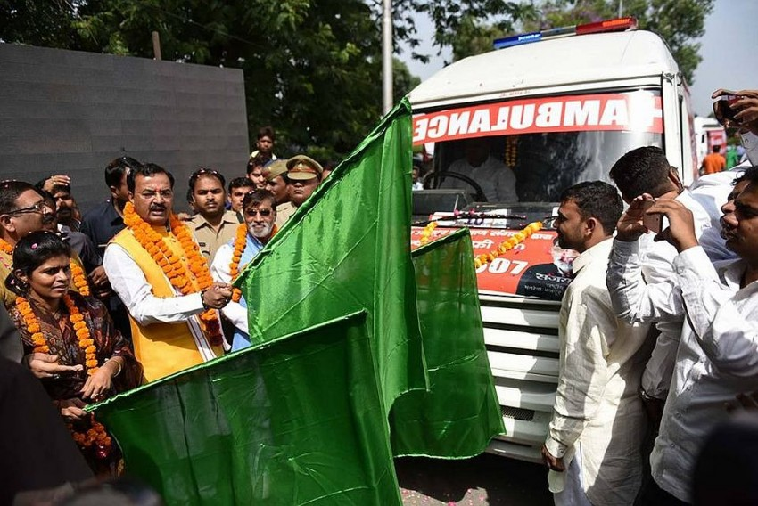 After Aadhaar, UP Cows To Now Enjoy Exclusive Ambulance Services, Toll Free Numbers