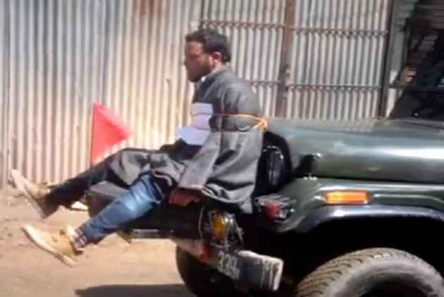 Indian Army Rewards Major Who Tied Civilian To Jeep As Human-Shield, For Counter-Insurgency Operations