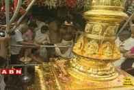 Sabarimala Temple's Golden Mast Damaged With Mercury, Three Detained
