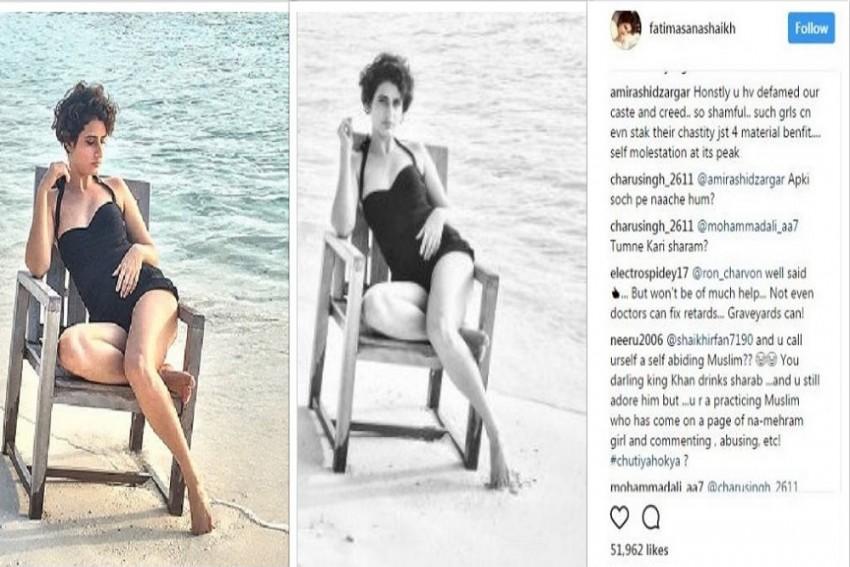 Dangal Girl Trolled For Wearing Swimsuit During Ramadan