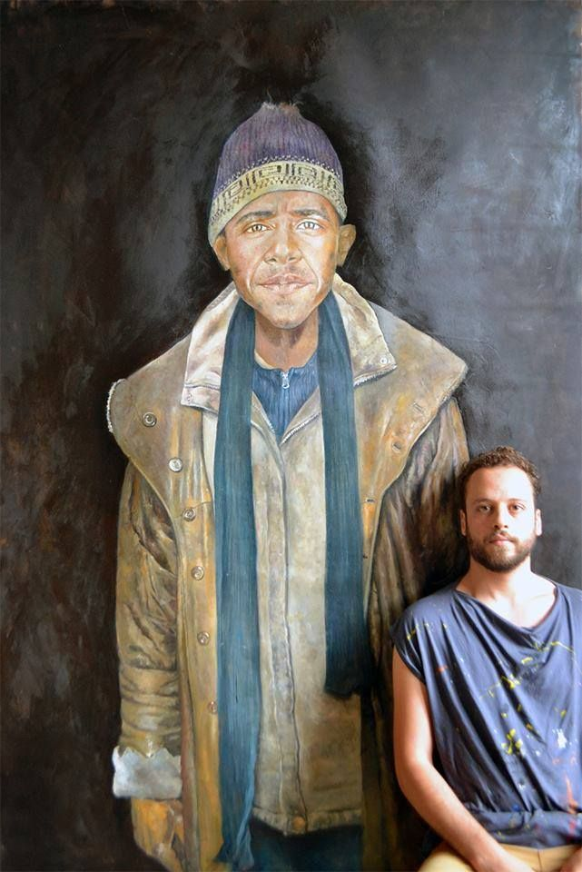 From Trump to Assad: This Syrian Artist Depicts World Leaders As Vulnerable Refugees