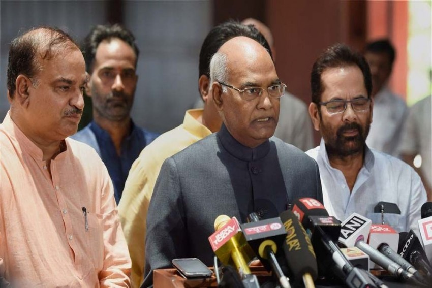 My Selection At Presidency Marks The Greatness Of Indian Democracy: Ram Nath Kovind