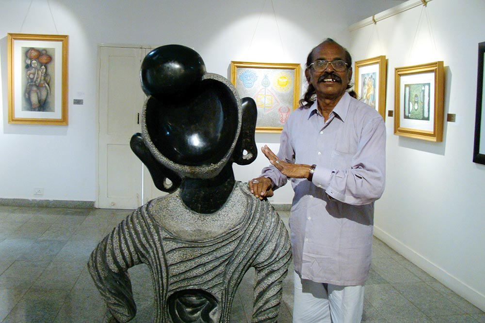 Journey Of A Sculptor's Oeuvre