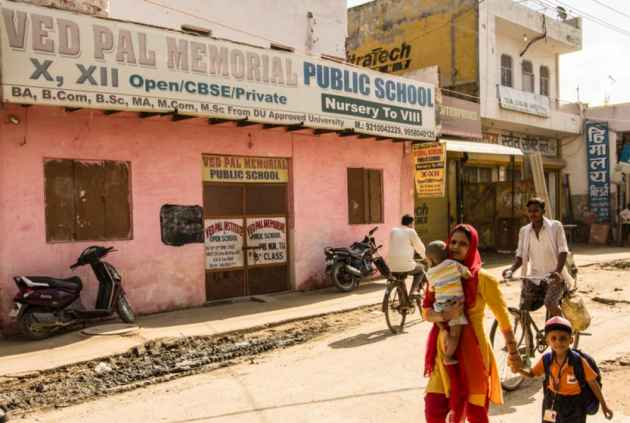 An Unauthorised West Delhi Colony And Its 100 Private Schools