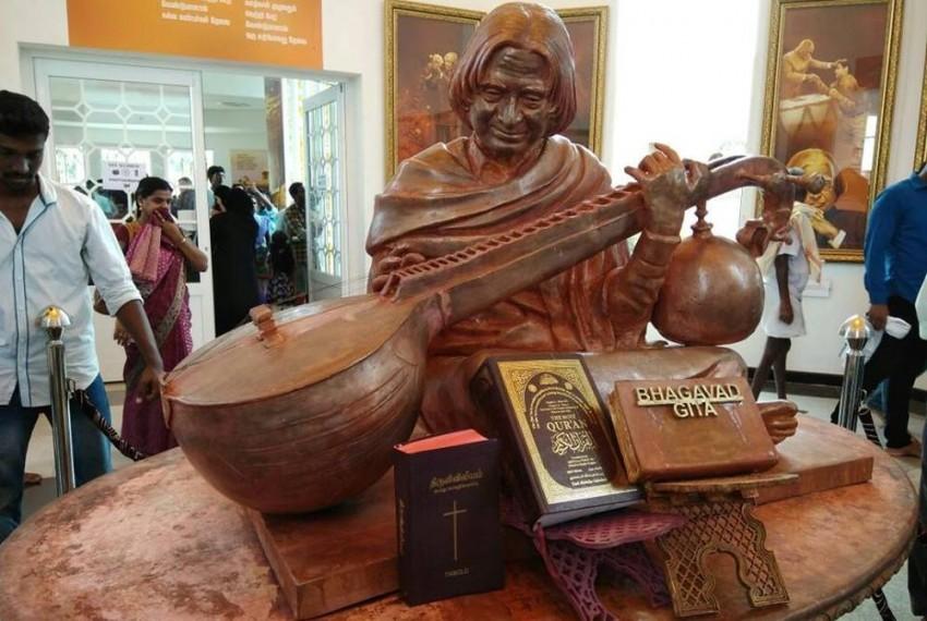 Tamil Nadu Politicians Object To Holy Books Near Kalam Statue In Rameswaram