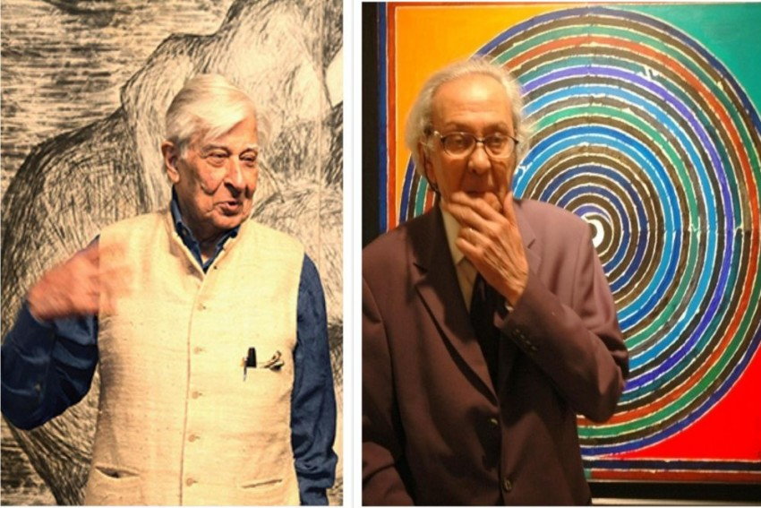 Warm Pen Strokes Of 44 Years By Two Iconic Modernist Indian Painters