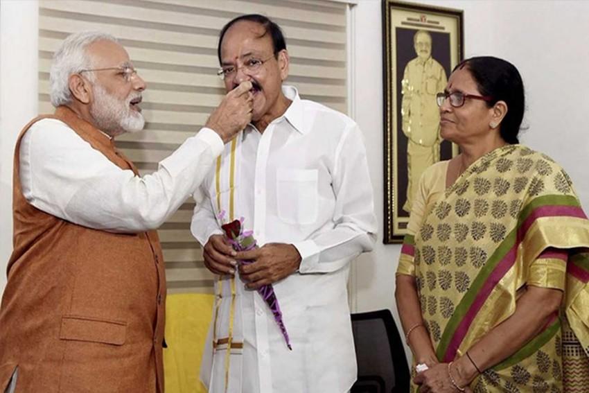 Venkaiah Naidu Takes Oath As 13th Vice President Of India